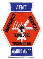 Tennessee EMT Advanced Ambulance Patch NEW