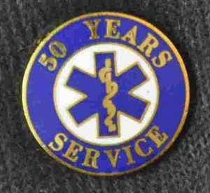 50 Year EMS Service Pin