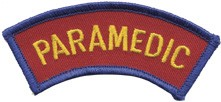 Maine Paramedic Rocker Patch