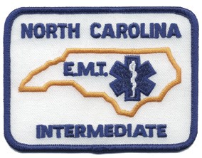 North Carolina EMT Intermediate Patch