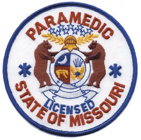 Missouri Paramedic Patch