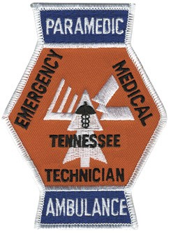 Tennessee Paramedic Ambulance Patch