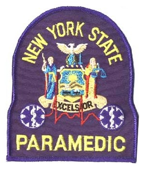 New York Paramedic Patch