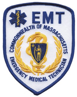 Massachusetts EMT Patch
