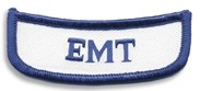 Georgia EMT Rocker Patch