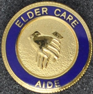Elder Care Graduation Pin