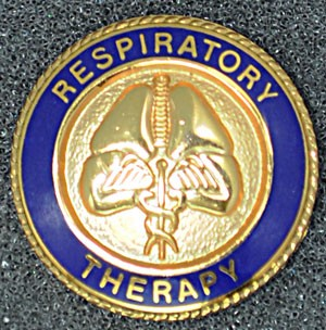 Respiratory Therapy Graduation Pin