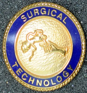 Surgical Technology Graduation Pin