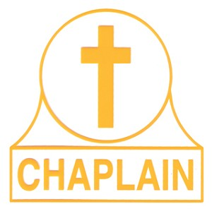 Chaplain Window Decal