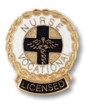 Licensed Vocational Nurse Pin