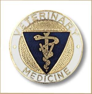 Veterinary Medicine Pin