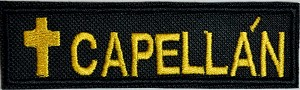 Capell??n Patch 1x4 Inch patch with cross