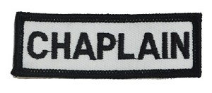 Chaplain Bar 1 x 3 White