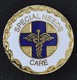 Special Needs Care Pin