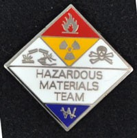 Hazardous Materials Team Pin