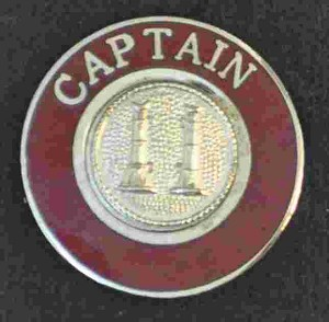 Captain Uniform Pin