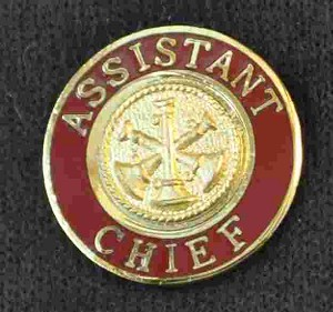Assistant Chief Uniform Pin