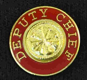 Deputy Chief Uniform Pin