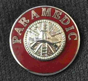 Paramedic Uniform Pin