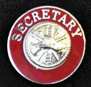 Secretary Uniform Pin