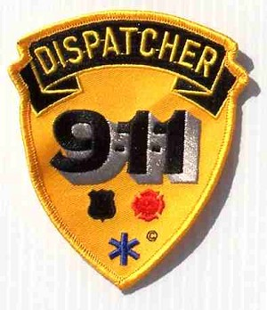 Dispatcher 911 Embroidered Patch