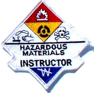 Hazmat Instructor Embroidered Patch