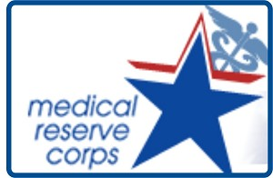Embroidered Patch - Small Medical Reserve Corps Patch